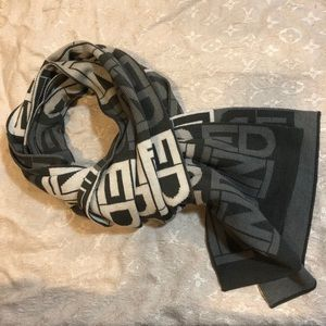 Authentic vintage Fendi wool scarf
